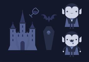 Dracula Vector Pack