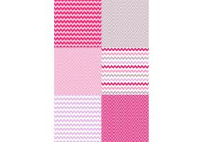 Valentine Chevron Pattern Set