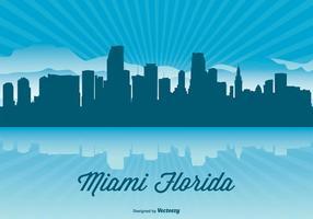 Miami Skyline Illustration