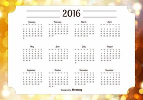 2016 Kalender Illustration