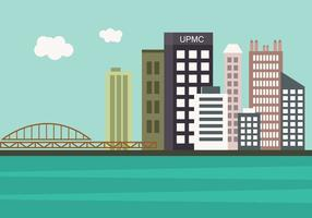 Pittsburgh Skyline in Vector