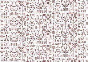Vector de fondo floral de patrón