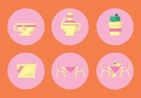 Hoge Thee Vector Icon Set
