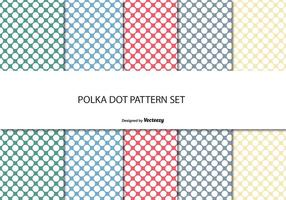 Polka dot mönster set