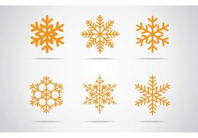 Snowflakes Vector Icon