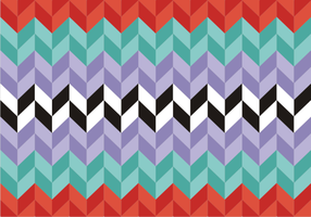 Zig zag background vecteur gratuit