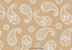 Paisley Vector Background