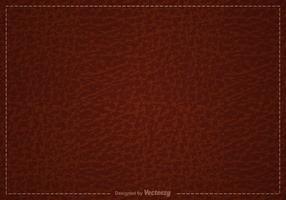 Fondo de cuero marrón libre del vector