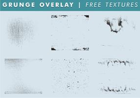 Grunge Overlay & Textur Free Vector