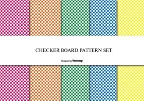 Checker Board Muster Set