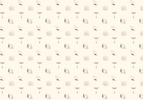 Sea shells pattern background