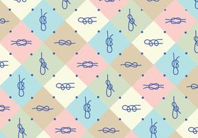 Knots Pattern Background
