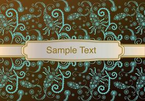 Vintage Background with Ornament vector
