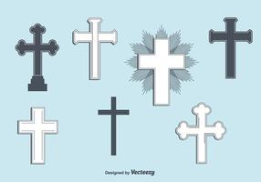 Set di croci vettoriali
