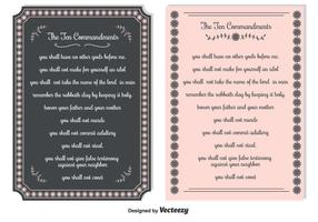 Ten Commandments Backgrounds
