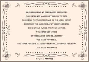 Fundamentos de dez mandamentos