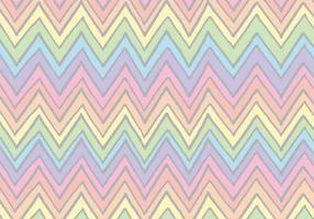 Gratis Rainbow Chevron Patroon Vector