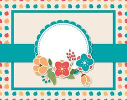 Decorative Card Illustration