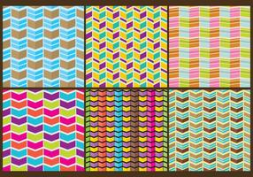 Segmenterade Chevron Patterns