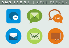 Sms Icons Free Vector