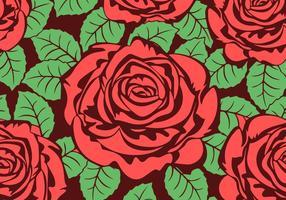 Textura de fundo do vetor de rosas grátis