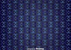Blue Curve Wall Tapestry Vector Achtergrond