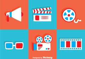 Flat Movie Icons