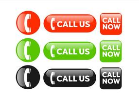 Call Now Buttons vector