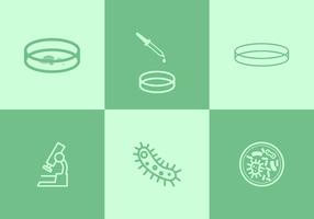 Petriskål vektorer
