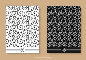 Gratis Swirly Seamless Vector Patterns