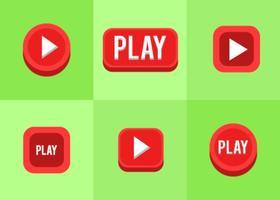 Speelknop icoon