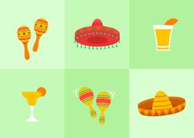 Cinco de mayo illustraties
