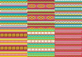 Aztekische Mustervektoren