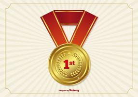 Eerste Plaats Lint / Medaille