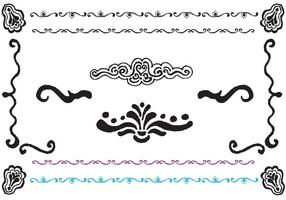 Free Fancy Lines Vector Series