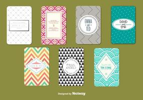Modern Wedding Card Templates