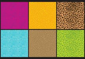 Vetores de impressão leopardo