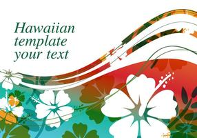 Background Hibiscus Flower Vector