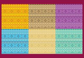 Vecteurs de motif aztèque