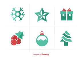 Christmas Flat Color Iconset