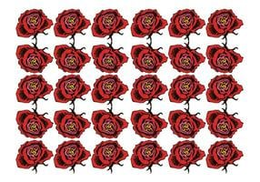 Free Roses Background Vector