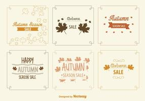 Autumn Sale Signs