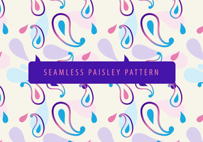 Nahtloses Paisley-Muster