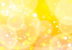 Yellow Bokeh Background Vector