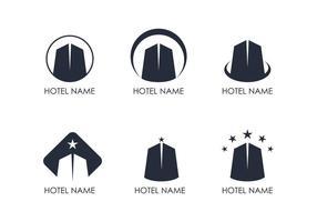 Hotell Logo Vektorer