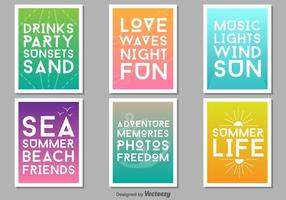 Summer Party Posters