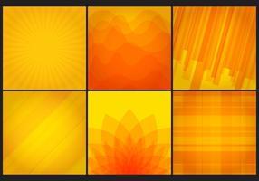 Vektor gula bakgrunder
