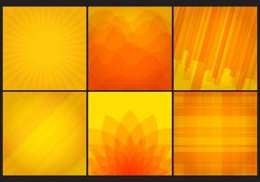 Vector Gele Achtergronden