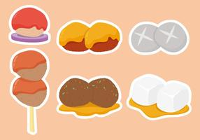 Meat Ball and Food Vectors