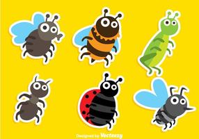 Cartoon Insect Vectors